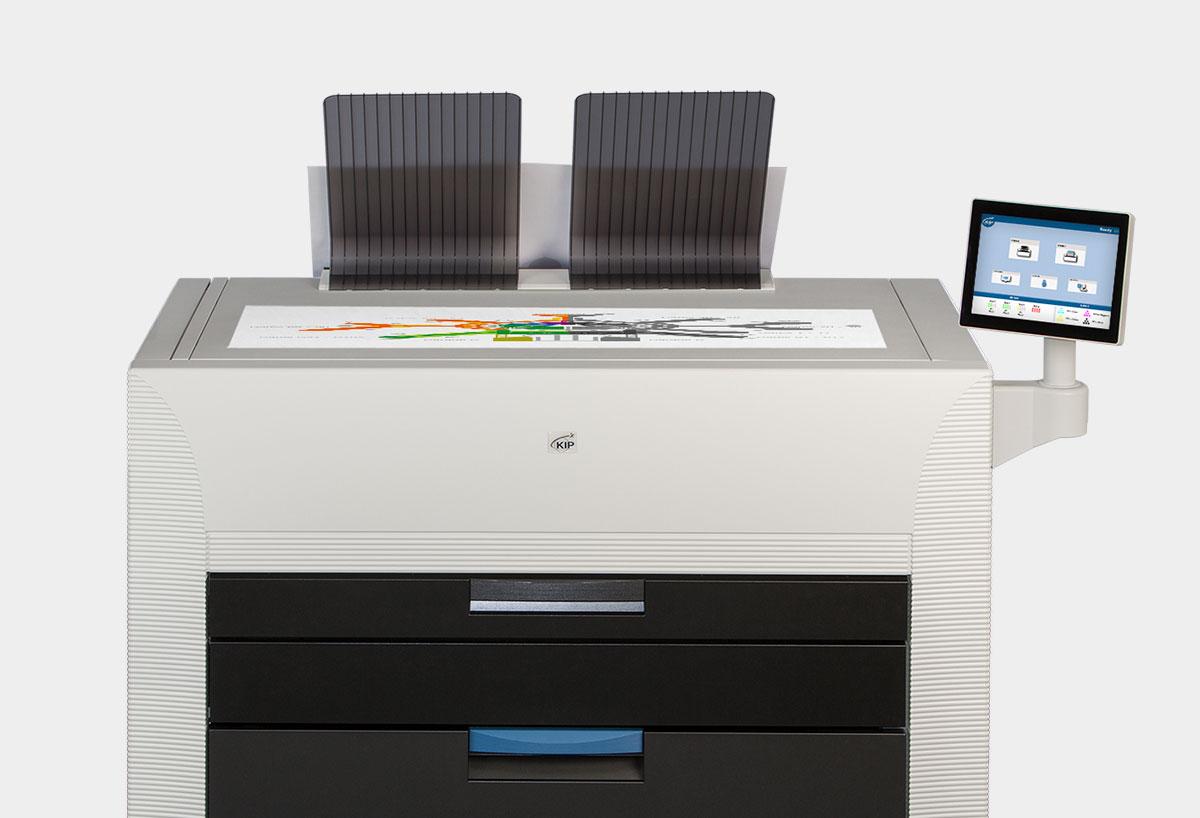 Ein Großformatdrucker von KIP